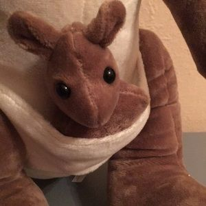 Other - Mama Roo and Joey too velveteen plush doll